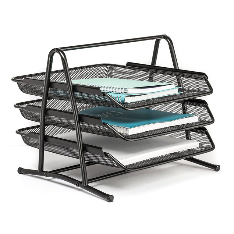 3 Tier Desk Tray Organizer
