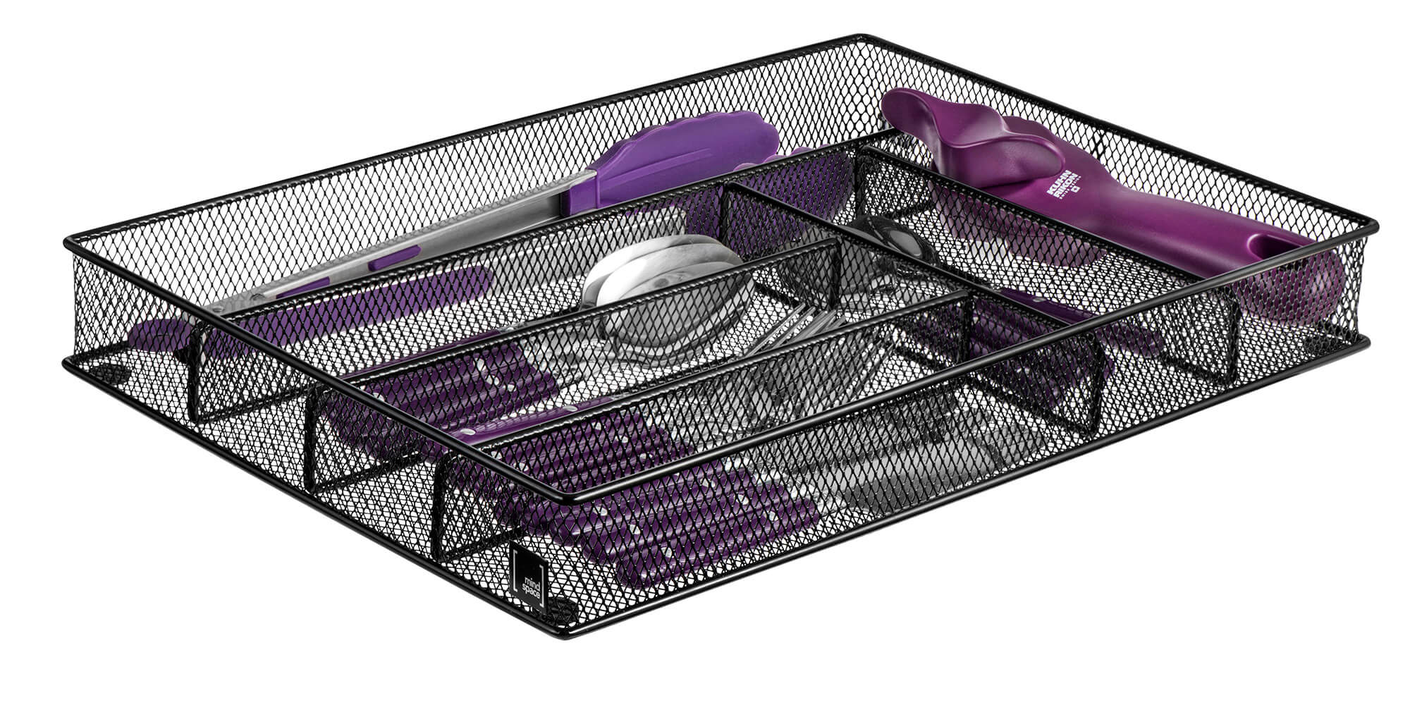 6 Compartment Cutlery Tray Mindspace